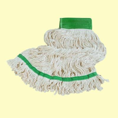Looped End Medium Bamboo Silk Wet Mop (Case of 12)