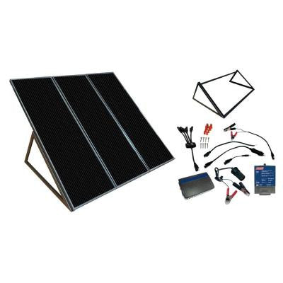 55-Watt 12-Volt Amorphous Solar Back Up Kit