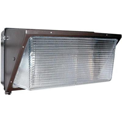 Nexis 1-Light Outdoor Architectural Bronze Pulse Start Metal Halide Wall Pack