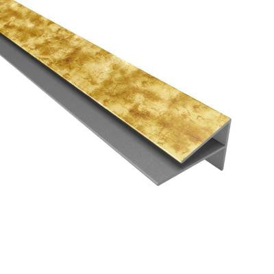 4 ft. Large Profile Outside Corner Trim in Bermuda Bronze