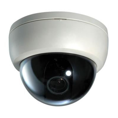 Wired Plastic Dome Indoor/Outdoor Color Security Camera