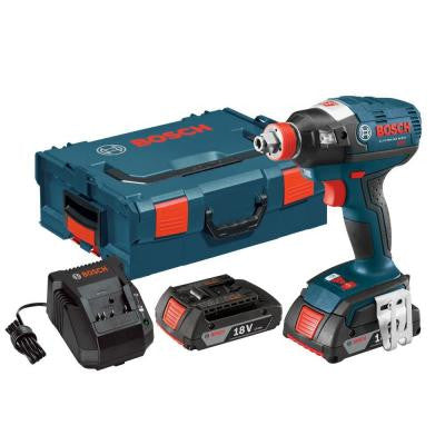 18-Volt Lithium-Ion Cordless EC Brushless Socket Ready Impact with 1/4 in. Hex and 1/2 in. Square Drive
