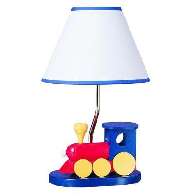 Cooper 21 in. Multicolor Choo Choo Train Incandescent Novelty Lamp