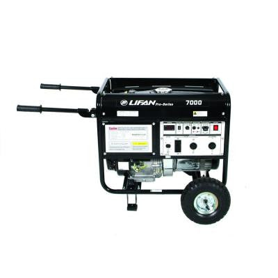 Pro-Series 7,000-Watt 389 cc Gasoline Powered Portable Generator with CARB