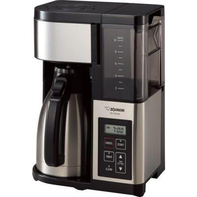 Fresh Brew Plus Thermal Carafe Coffee Maker in Black and Stainless Steel