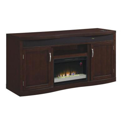 End Zone 73 in. Triple Function Electric Fireplace in Espresso