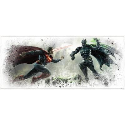 2.5 in. x 21 in. Injustice Wall Graphix Peel and Stick Giant Wall Decal