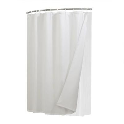 Liner, Curtain and Shower Rings Combo Set