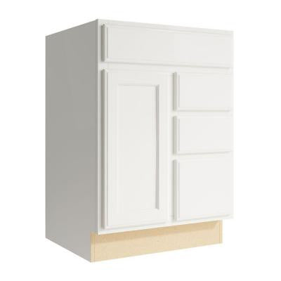 Stig 24 in. W x 34 in. H Vanity Cabinet Only in Lace