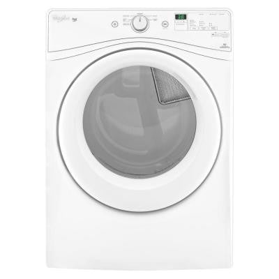 Duet 7.3 cu. ft. High-Efficiency Electric Dryer in White
