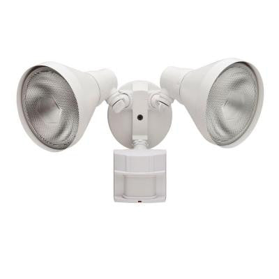 180-Degree Outdoor White Motion-Sensing Security-Light