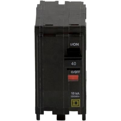 QO 40 Amp Two-Pole Circuit Breaker