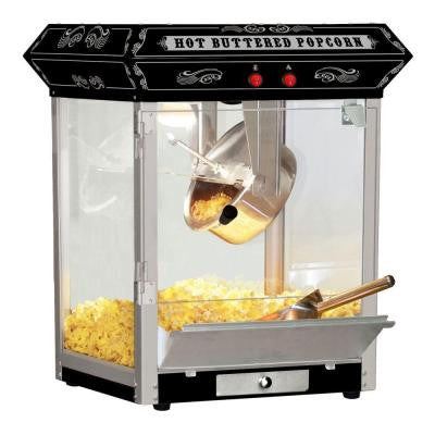 Carnival Style 4 oz. Hot Oil Popcorn Popper Machine Maker