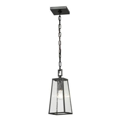 Gloucester Collection 1-Light Charcoal Outdoor Pendant