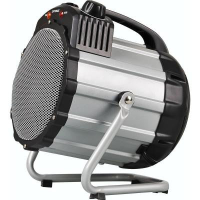 750-Watt to 1500-Watt Portable Utility/Shop Electric Portable Heater with Thermostat
