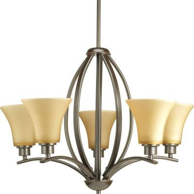 Joy Collection 5-Light Antique Bronze Chandelier
