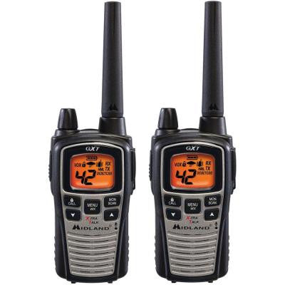 36-Mile 42 Channel 2-Way Radios - Black (2-Pack)