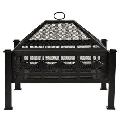 28 in. Steel Mission Fire Pit