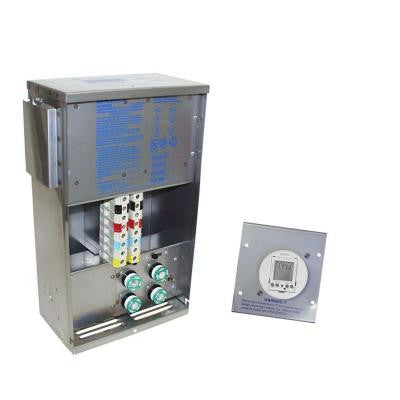 PowerCenter Transformer With Digital Timer Stainless Steel Finish