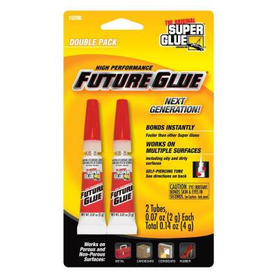 .07 oz. Future Glue, (2) .07 oz. Tubes per card (12- Pack)