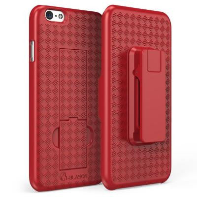 Transformer Holster Case for iPhone 6 Plus - Red