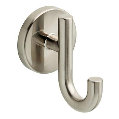 Lyndall Double Robe Hook in Satin Nickel