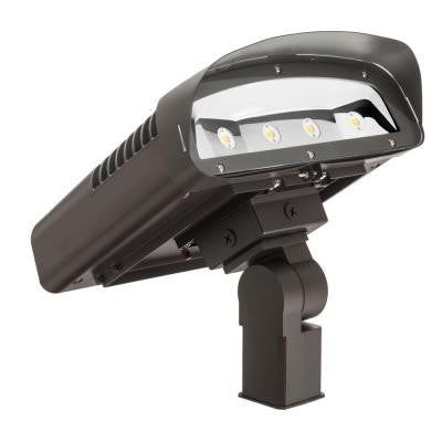 OLWX2 Bronze Outdoor Slip-Fitter Flood Light Mount Accessory