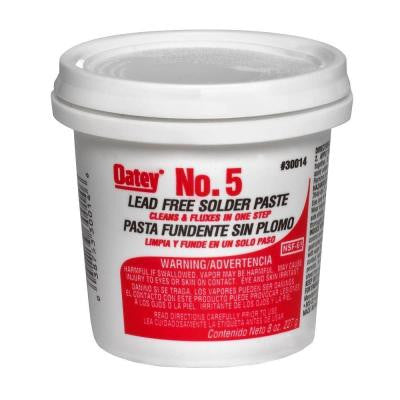 8 oz. No. 5 Lead-Free Paste Flux