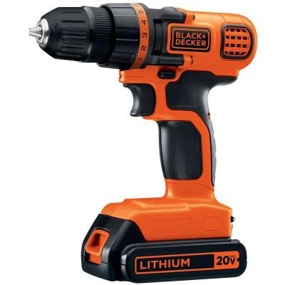 20-Volt MAX Lithium-Ion 3/8 in. Cordless Drill/Driver