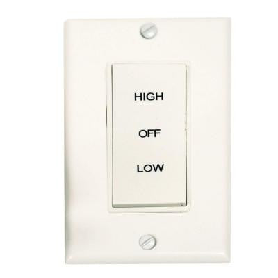 2 Speed Fan Control Switch