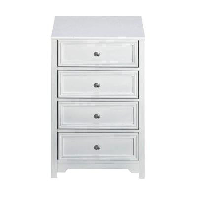 75 in. W Oxford White 4-Drawer Chest
