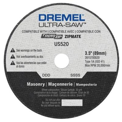 Ultra-Saw 3.5 in. Masonry Cutting Wheel