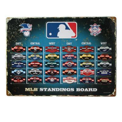 18.5 in. H x 13.5 in. D MLB Magnetic Standings Board Wall Art