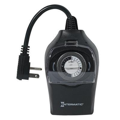 15 Amp Outdoor Plug-In Timer