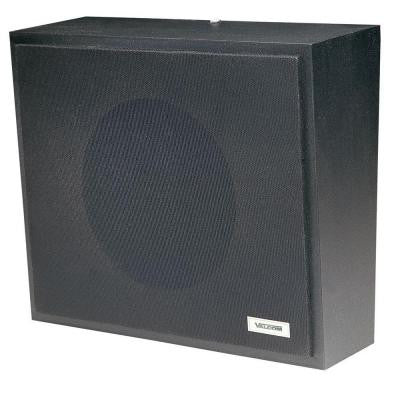 1-Way Wall Speaker - Black