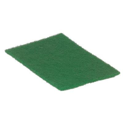 9 in. x 6 in. Green Scour Pads (Case of 60)