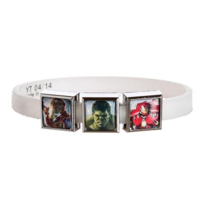 Marvel AAOU 3 Charm White Band
