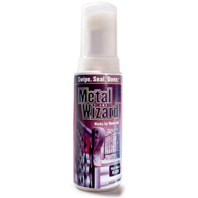 Metal Wizard 4-oz. High-Gloss Black Coating