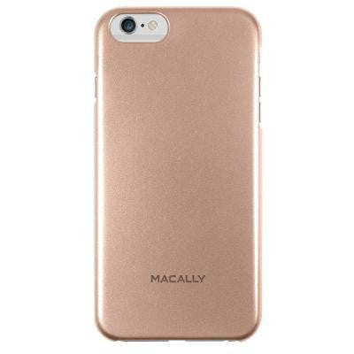 Metallic Snap-On Designed for iPhone6 Plus Case - Champagne