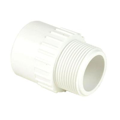 3 in. x 4 in. Schedule 40 PVC Reducing Male Adapter MPTxS