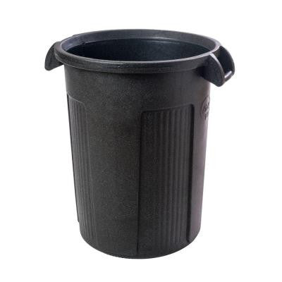 44 Gal. Gray Round Trash Can