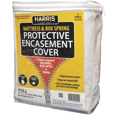 Mattress or Box Spring Protective Encasement Full Cover