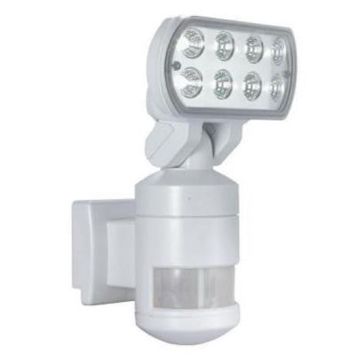 220-Degree Outdoor White Motion-Tracking LED Security Light