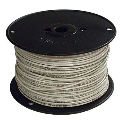 500 Ft 4 Stranded THHN wire White