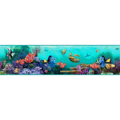 9 in. H Walt Disney Kids II Nemo Under Water Border