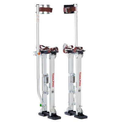 24 in. to 40 in. Aluminum Drywall Stilts