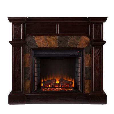 Avery 45.5 in. Convertible Electric Fireplace in Classic Espresso