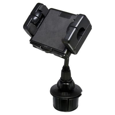 Cup Holder Mounting Kit for Mobile Device - Black