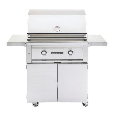 2-Burner Stainless Steel Natural Gas Grill