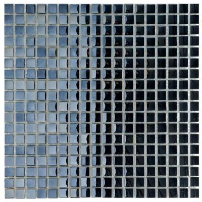 Claude Mirror Mini 11-3/4 in. x 11-3/4 in. x 6 mm Glass Mosaic Wall Tile